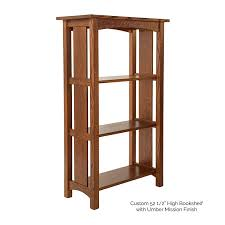 Oak Bookcases With Glass Doors Mission Style Oak Bookcases Design Bookcase Glass Doors Headboard