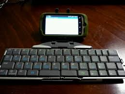 bluetooth keyboard android an android use for the igo stowaway bluetooth keyboard