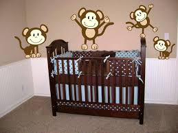 Nursery Wall Decals For Girls by Girl Monkey Wall Decals Team Galatea Homes Nursery Monkey Wall