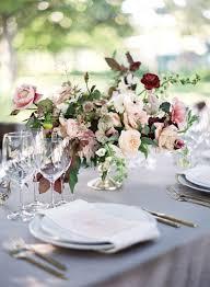 White Centerpieces 28 Refined Burgundy And Blush Wedding Ideas Weddingomania