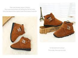 Warm Comfortable Boots 2016 Winter Baby Shoes Boys Boots Genuine Leather Small Kids Boots