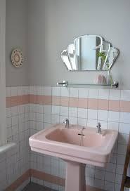 Pink Tile Bathroom Ideas Salvagedpast Rustic Cabin Bathroomcabin Rustic Bathrooms