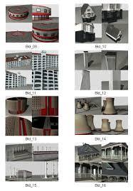 free 3d models 3d buildings set 2 designfreebies