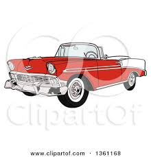cartoon convertible car classic car clipart cartoon pencil and in color classic car