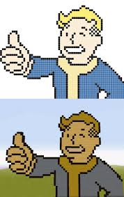 minecraft fallout pixel art templates minecraft pixel art