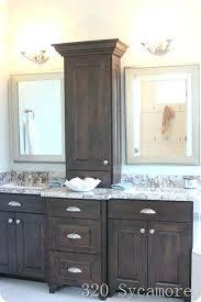 Bathroom Vanity Storage Tower Bathroom Counter Storage Tower Medium Size Of Bathroom Storage