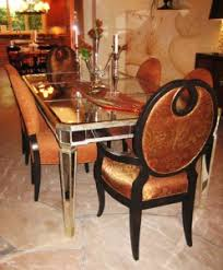 mirrored dining room table mirrored dining table contents interiors