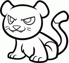 draw draw cougar kids hellokids