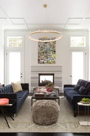 Two Different Sofas In Living Room by Celebrity Interior Designer Ann Lowengart Decorist