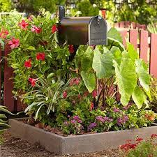 Mailbox Flower Bed Best 25 Mailbox Garden Ideas On Pinterest Mailbox Mailbox