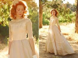 wedding dress vintage vintage gown shopping tips ruffled