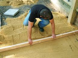 Installing Patio Pavers On Sand How To Build Patio With Pavers And Sand Building Paver Tos Diy A