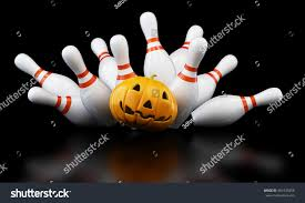 this is fun halloween bowling game idea that my preschoolers love