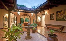 style homes with courtyards wonderful hacienda style house plans house style design