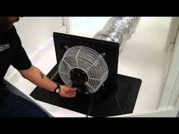 crawl space exhaust fan exhaust fan system crawl space doors youtube