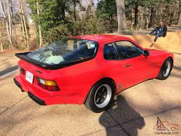 porsche 944 black porsche 944 red black leather 115 000 miles sunroof automatic