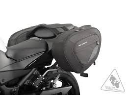 sw motech bags connection blaze sport saddlebag system for