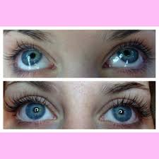 mink eyelash extensions before and after getnailed mywork