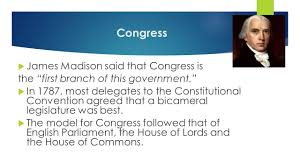 chapter 5 congress essential question and objectives essential