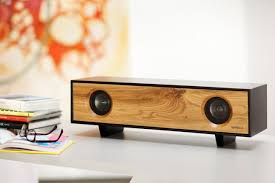 Modern Speaker Tabletop Hifi Amplified Speaker Cabinet Gadget Flow
