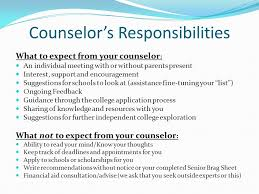 Guidance Counselor Brag Sheet Senior Presentation September Ppt