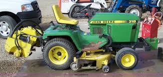 1988 john deere 318 lawn tractor item 7296 sold novembe