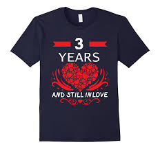 3rd wedding anniversary gift 3rd wedding anniversary gifts 3 year shirt for him and goatstee