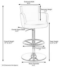 Typical Seating Height by Counter Height Bar Stool Measurement Stools Chairs Seat And