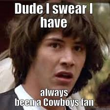 Dallas Cowboy Hater Memes - dallas cowboys haters be like quickmeme