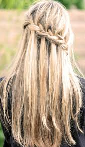 hair braiding styles long hair hang back waterfall braid for long straight hair back view hairstyles weekly