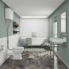 top bathroom designs newbury traditional back to wall roll top bath suite roll top bath