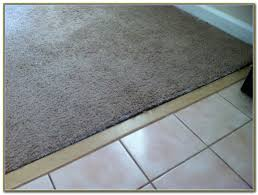 rug carpet tile carpet to tile transition strips rubber rug