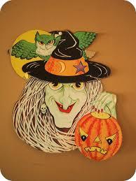 happy halloween vintage vintage halloween die cut witch found at an estate sale a u2026 flickr
