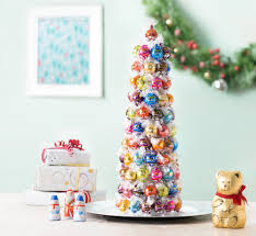 holiday lindtspiration lindor truffle tree lindt chocolate