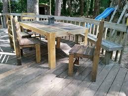 15 Unique Pallet Picnic Table 101 Pallets by 56 Best Pallet Patio Furniture Images On Pinterest Backyard