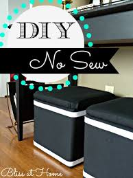 Diy Storage Ottoman Cube Diy No Sew Recovered Storage Cubes For Those Inexpensive Colorful