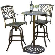 Outdoor Bistro Table Set Perfect High Outdoor Bistro Set Belham Living Wrought Iron Bar