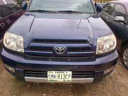 cheap toyota 4runner for sale extremely neat 2006 model toyota 4runner for sale in lagos buy