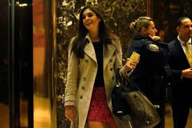 Trumps Hpuse In New York Hope Hicks Gets Paid A Huge Salary That U0027s As High As Trump U0027s Top