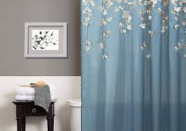 Navy And Pink Curtains Dahlia Shower Curtain Navy Blue Pink Gray Shower Curtain With