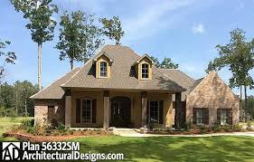 acadian floor plans plan 56332sm split bedroom country home plan acadian