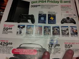 ps4 black friday deals target ps4 launch games to be buy 2 get 1 free at target on november
