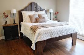 reclaimed wood bed diy
