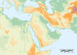 Middle East Geography Map by 28 560 Physical Geography Stock Illustrations Cliparts And