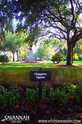 Savannah Georgia Forrest Gump Bench Chippewa Park In Savannah Ga Where Forrest Gump Was Filmed While