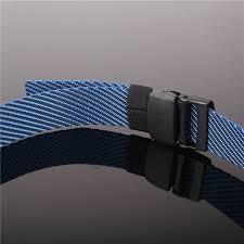 belt buckle allergy 2017 clip buckle canvas belt colorful weave belt for