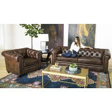 leather livingroom set top grain leather living room set abbyson kassidy grey 3