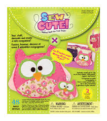 sew cute craft box kit makes 2 owl joann