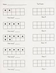 five frame ten frame worksheets cool pre k worksheets for kids preschool