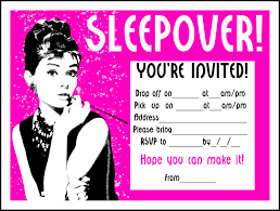 birthday sleepover invitations alanarasbach com